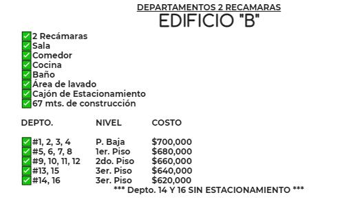 Carrusel de -PREVENTA- DEPARTAMENTOS EN COL. GUADALUPE VICTORIA, TAMPICO.