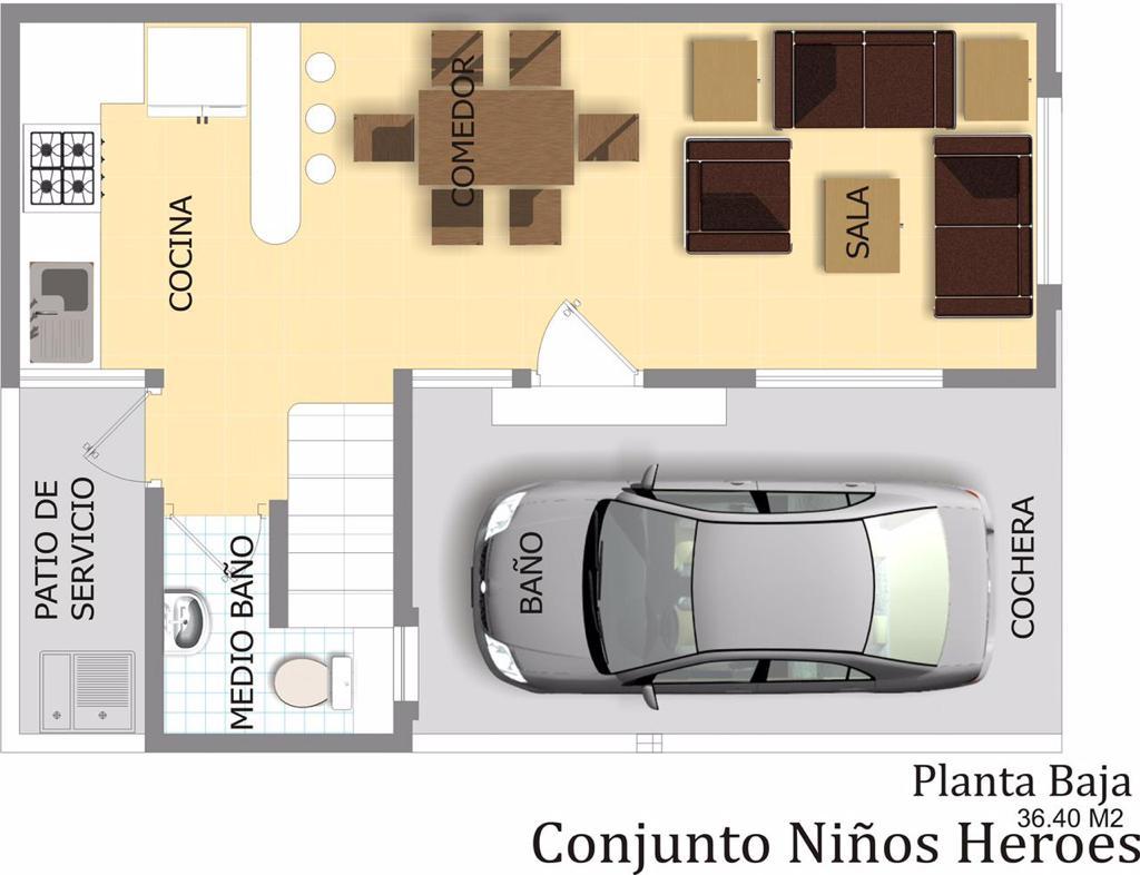 Carrusel de CASA HERMOSA EN COLONIA NIÑOS HEROES TAMPICO